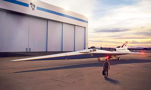 NASA tập trung khắc phục tiếng ồncho máy bay siêu thanh thế hệ mới. Ảnh: Express Digest.