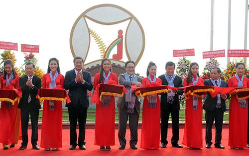 Khánh thành Khu công nghiệp Hữu nghị Việt Nam - Nhật Bản tại Cần Thơ. Ảnh: Cửu Long