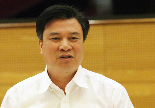 Thứ trưởng Giáo dục Đào tạo Nguyễn Hữu Độ. Ảnh: Võ Hải