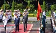 Cựu binh Việt Nam hoan nghênh Thủ tướng Pháp thăm chiến trường Điện Biên Phủ