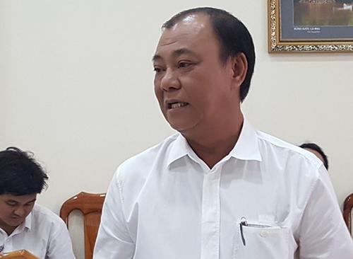 Ông Lê Tấn Hùng. Ảnh: Pháp luật TP HCM.