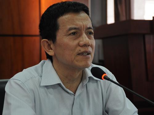 PGS Nguyễn Mạnh Hà. Ảnh:Viết Tuân.