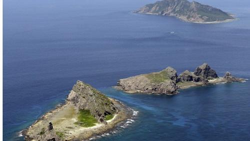 Quần đảo Senkaku/Điếu Ngư, phần lãnh thổ tranh chấp giữa Nhật Bản và Trung Quốc trên biển Hoa Đông. Ảnh: AP.