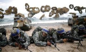 Thủy quân lục chiến Mỹ - Hàn nối lại tập trận chung
