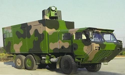 Tổ hợp vũ khí laser LW-30 của Trung Quốc. Ảnh: Defence Blog.