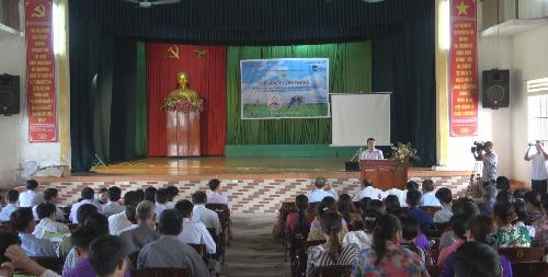 Hội thảo tại Nam Định thu hút đông đảo bà con tham gia