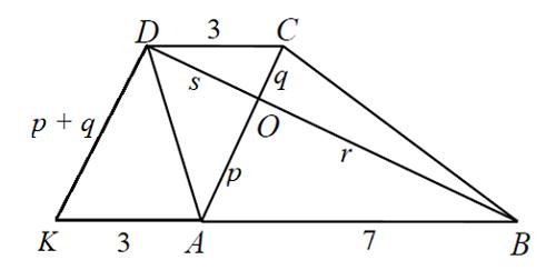 Đáp án bài toán hình thang trong đề thi BIMC 2018 - 1