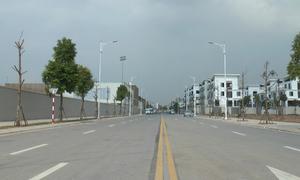 Đường 650m đầu tư gần 200 tỷ đồng chưa đặt tên ở Hà Nội