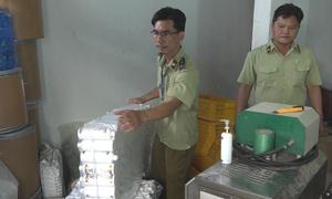 Cơ sở sản xuất mỹ phẩm giả ở Sài Gòn, đóng mác made in Thailand