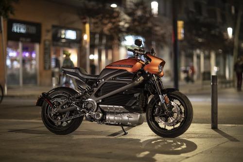 Mẫu xe chạy điện hoàn toàn của Harley-Davidson.