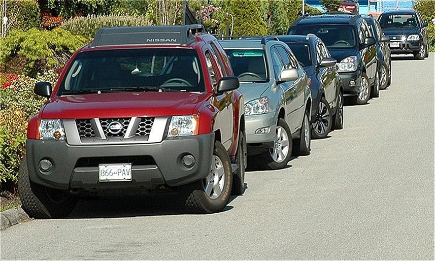 Xoay vô-lăng - cách đỗ xe an toàn trên đường dốc
