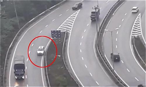 Ôtô đi lùi ở khúc cua trên cao tốc: Nỗi ám ảnh tai nạn của giới tài xế