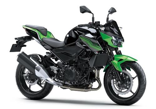 Mẫu nakedbike thừa hưởng thiết kế của dòng xe Z-serie nổi tiếng.