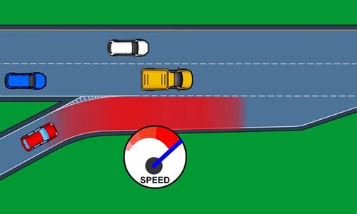 Cách nhập làn an toàn khi vào đường cao tốc