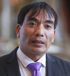 Chuyên gia Hoàng Việt. Ảnh: Nguyễn Đông.