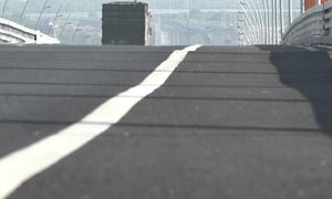 Chưa sửa những chỗ lồi lõm trên cầu Bạch Đằng vì chờ 'ổn định'
