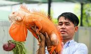 Trang trại nuôi hàng trăm con rồng Nam Mỹ ở Sài Gòn