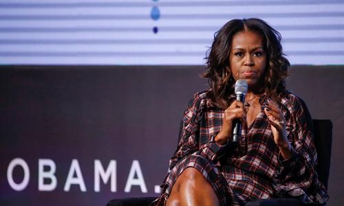 Michelle Obama tại một sự kiện ở Chicago tháng 11 năm ngoái. Ảnh: Reuters.