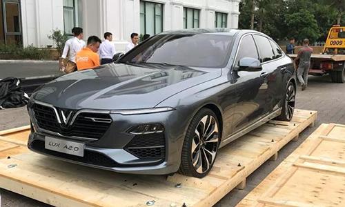 Hai ôtô VinFast xuất hiện tại Việt Nam, chuẩn bị ra mắt - VnExpress