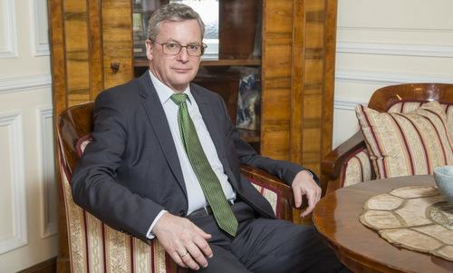 Đại sứ Áo tại Nga Johannes Eigner. Ảnh: TASS.