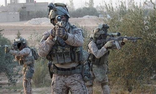 Lực lượng đặc nhiệm Nga tại Syria. Ảnh: Almasdar News.
