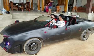 Hai anh em độ 'siêu xe' để đi rước dâu ở Hà Tĩnh