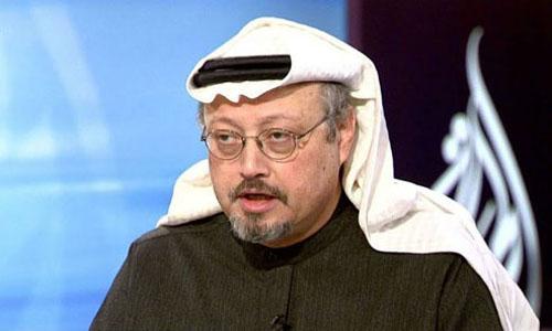 Nhà báo ngườiArab Saudi Jamal Khashoggi. Ảnh: AFP.