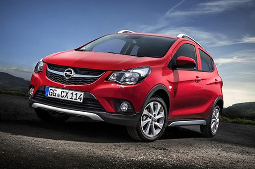 Opel Karl có thiết kế gần như tương đồng mẫu VinFast Fadil, chỉ khác logo.