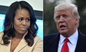 Trump đáp trả Obama khi bị Michelle nói 'không bao giờ tha thứ'