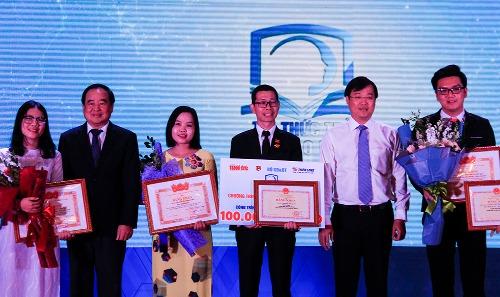 Bốn công trình thắng giải tri thức trẻ vì giáo dục 100 triệu đồng - ảnh 1