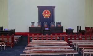 Phòng xét xử 1.000 m2 trước ngày ông Phan Văn Vĩnh hầu tòa