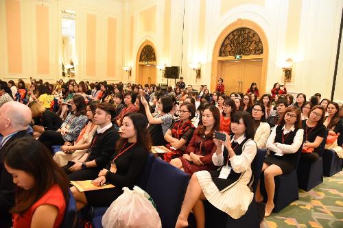 Hội nghị thu hút sự tham gia của giáo viên và những người yêu thích lĩnh vực giáo dục Anh ngữ. Để tìm hiểu thêm thông tin về chương trình, truy cập website:www.tesol.vus.edu.vn.