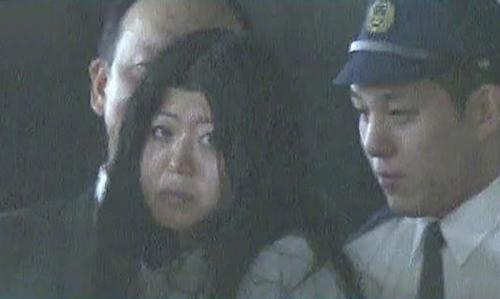 Cảnh sát Nhật Bản bắt giữ nghi phạm Aria Saito. Ảnh: ANN.
