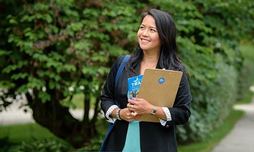 Người phụ nữ gốc Việt trở thành dân biểu Mỹ ở tuổi 31