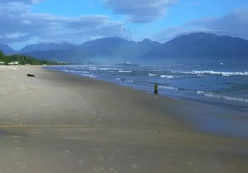 Khu vực bờ biển không còn ghi nhận tình trạng cá chết. Ảnh: N.T.