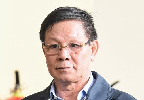 Ông Phan Văn Vĩnh tại phiên tòa chiều 12/11. Ảnh: Giang Huy