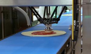 Dây chuyền sản xuất pizza tự động