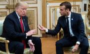 Trump chế nhạo Tổng thống Pháp có mức tín nhiệm thấp