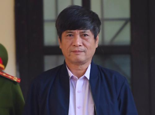 Bị cáo Nguyễn Thanh Hóa. Ảnh: Phạm Dự