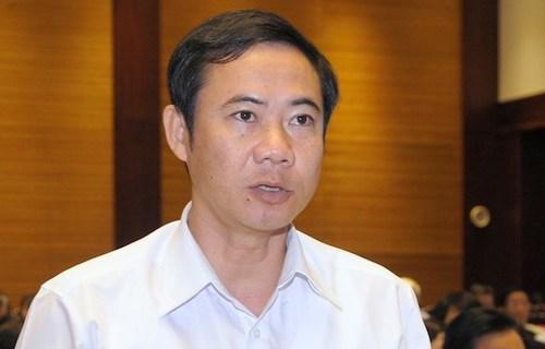 Phó ban Nội chính Trung ương Nguyễn Thái Học. Ảnh: Trung tâm thông tin QH