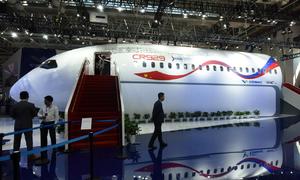 Mẫu máy bay chở khách cỡ lớn do Trung - Nga cùng sản xuất
