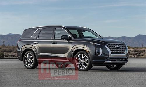 Hyundai Palisade 2020. Ảnh: Autopreview.