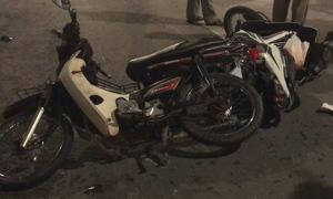 Ôtô đâm hàng loạt xe máy ở Sài Gòn, một người tử vong