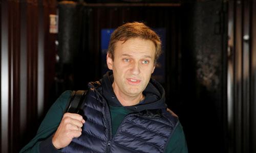 Lãnh đạo phe đối lập Nga Alexei Navalny. Ảnh: Reuters.
