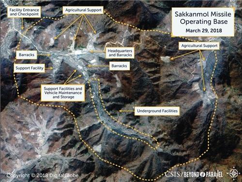 Triều Tiên hiện có khoảng 15-20 cơ sở tên lửa đang hoạt động. Ảnh: CSIS.