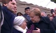 Thủ tướng Đức bị nhầm là vợ tổng thống Pháp