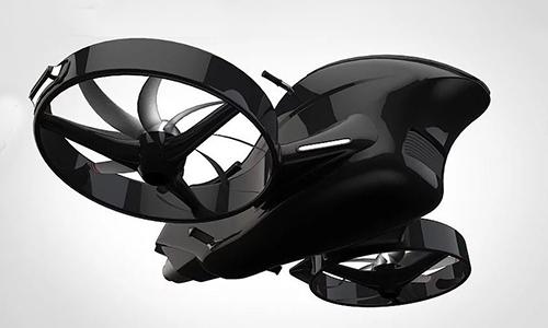 Con bay hồi chuyển giúp nâng cao tính ổn định của phương tiện bay. Ảnh: Design Boom.