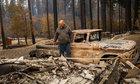 Cuộc chạy trốn khỏi đám cháy rừng ở California của gia đình người Mỹ