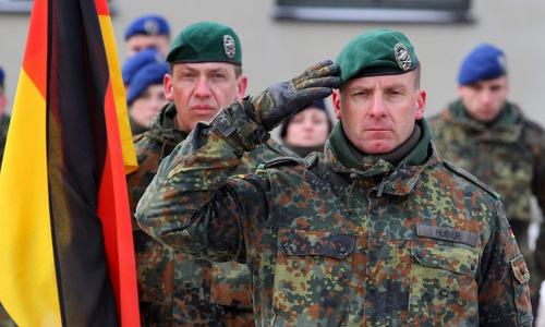 Chỉ huy một đơn vị lục quân Đức trong NATO. Ảnh: AFP.