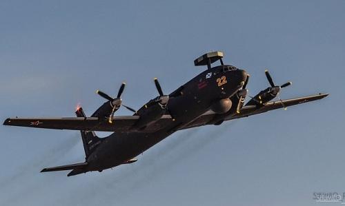 Một máy bay tuần thám săn ngầm Il-38 của Nga. Ảnh: Live Journal.